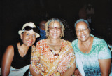 Sharon, Sunny and Mary Ann enjoying one of the African American Association's events in 2014.