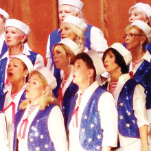 The Chordaires will entertain at the December 23 Rotary breakfast meeting.