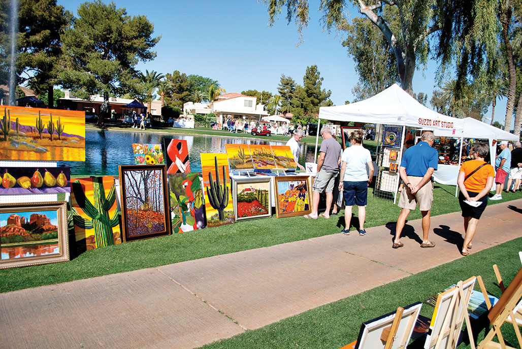 Enjoy Art at the Lakes on March 7!