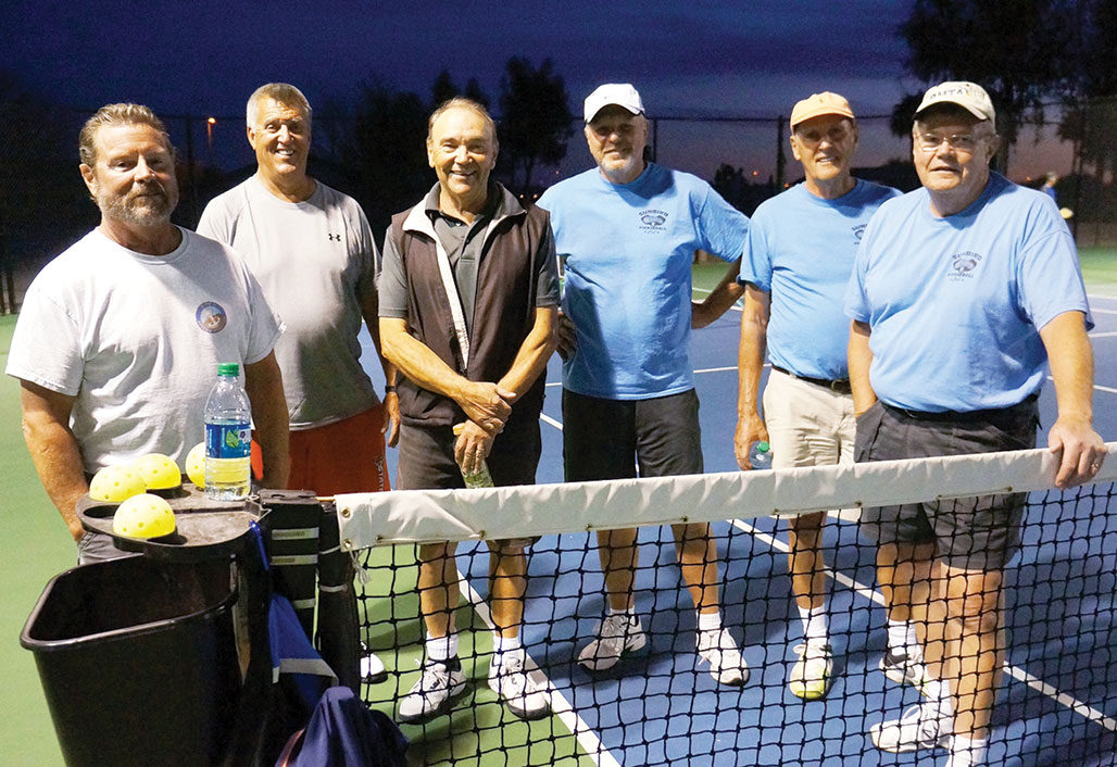 SunBird Pickleball Club members enjoyed playing Solera players