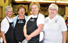 Kare Bear Board from left are Sherry Fann, Barb Dunbar, Shirley Jackson and Bunny Bottorff