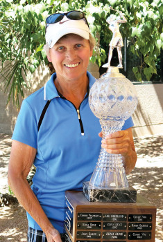 SunBird Ladies Golf Club champion, Karen Gilmore