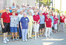 Members of the SunBird Lapidary Club celebrated at the End of the Season Party.