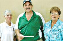 Sherry Fann, Dave Jones and Barb Donbar