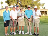 Pictured left to right are Becky Sargeant, Dan Carroll, Wes Terry, Frank Robinson, Patrick Leach and Dean Tucker