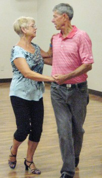 Take a Basic Social Dance class with Mary Lou!