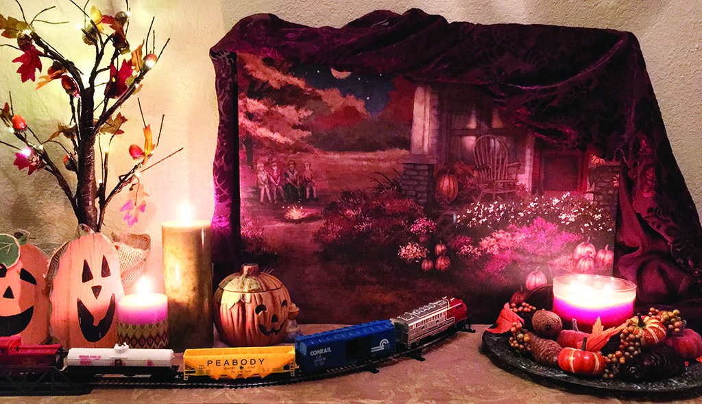 A spooky train ride!