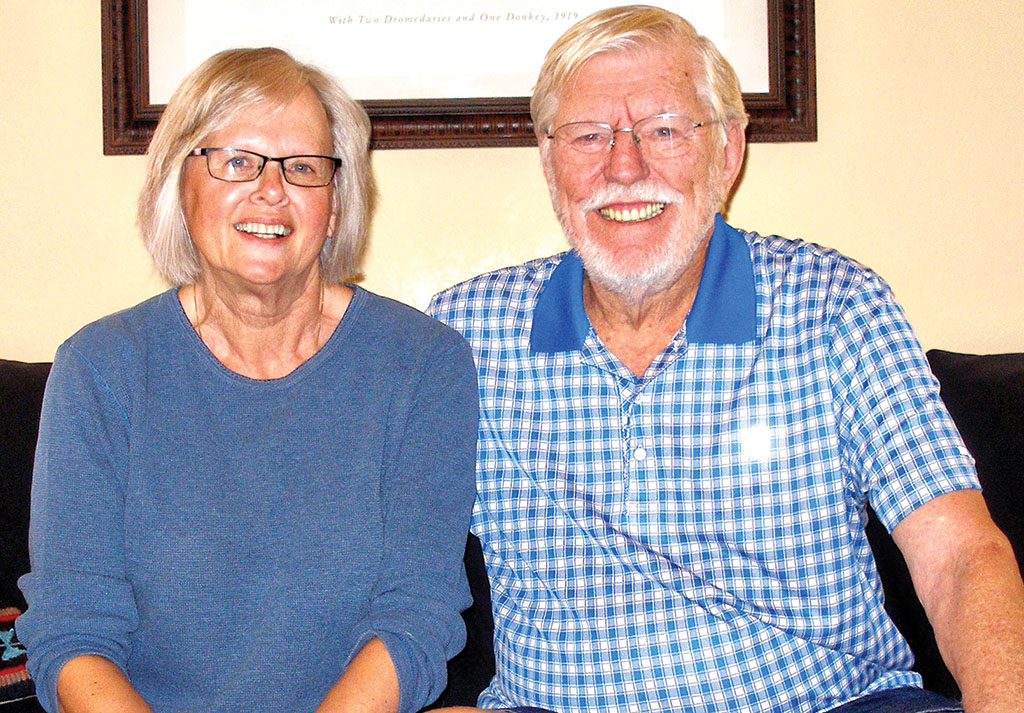Pam and Don Warber