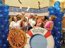 Everyone enjoyed the Cruise Party!