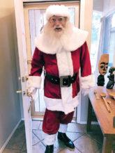 Santa comes to Rotary!