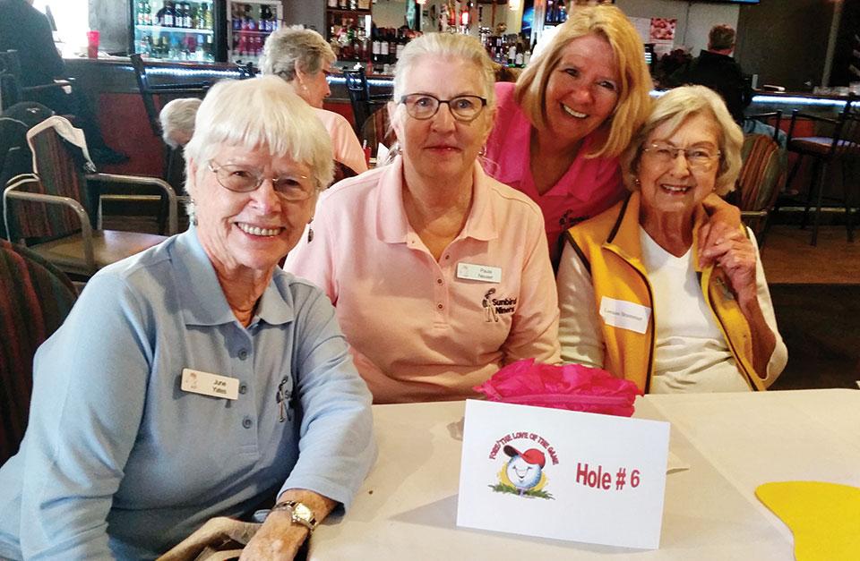 Front nine winners were June Yates, Paula Neuser, Rayleen Knight and Lorraine Brammer.