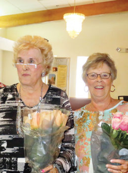 Volunteers of the year 2016: Rose Pachura and Pam Bianchi