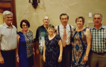 New board members Tim and Carol Tyrrell, Stu and Deanna Frost, John Yu, Bev and Don Dorge