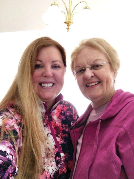 Shirley Jackson and daughter Gard