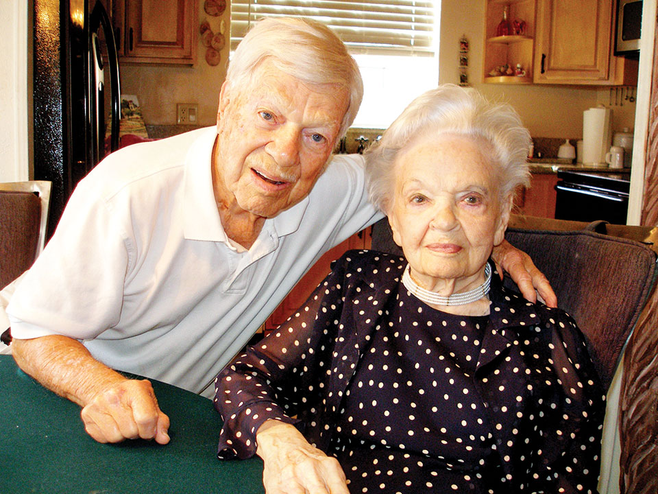 Dale Huffman and wife Jean