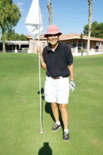 Pat Arnold's hole-in-one