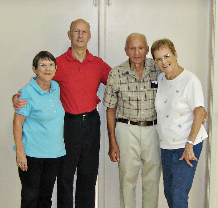 Deanna, Stu, Ed, and MaryAnn
