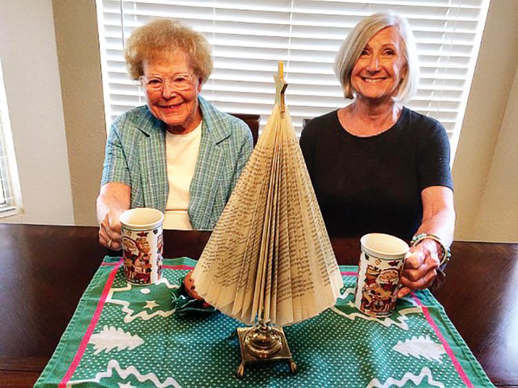 Margot Pierce and Sue Reynhout