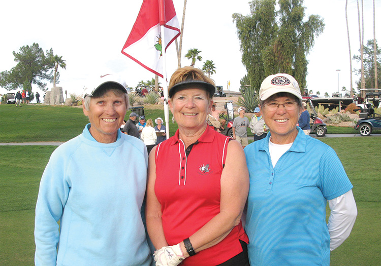 Ladies Gross Shoot Out winners