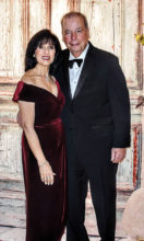 Pictured are Nunzio and Serafina Cusumano as they enter the San Tan Ballroom for February's All Dolled Up Formal Soiree. Don't their names just make you want to break out in song? They have been club members for many years. They journey back from New York each season. We want to thank them for their continued support of the club. Especially this season they have been a great source of encouragement.