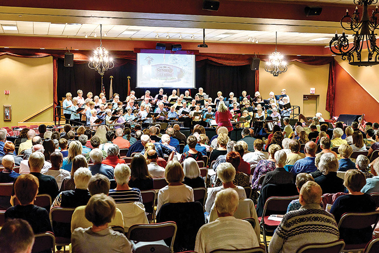 "SunBird Singers' Annual Spring Concert, ""Home"""