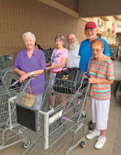 Volunteer to grocery shop for immunocompromised or homebound neighbors this summer.