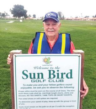 SunBird resident Gil Knudtson