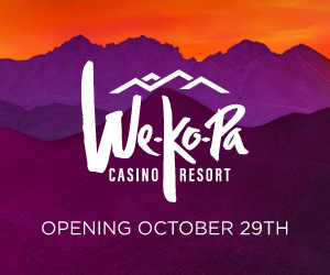 We-Ko-Pa Casino Resort opening October 29th