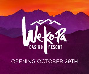 We-Ko-Pa Casino Resort opening October 29th