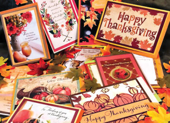 Thanksgiving cards can be delivered to you.