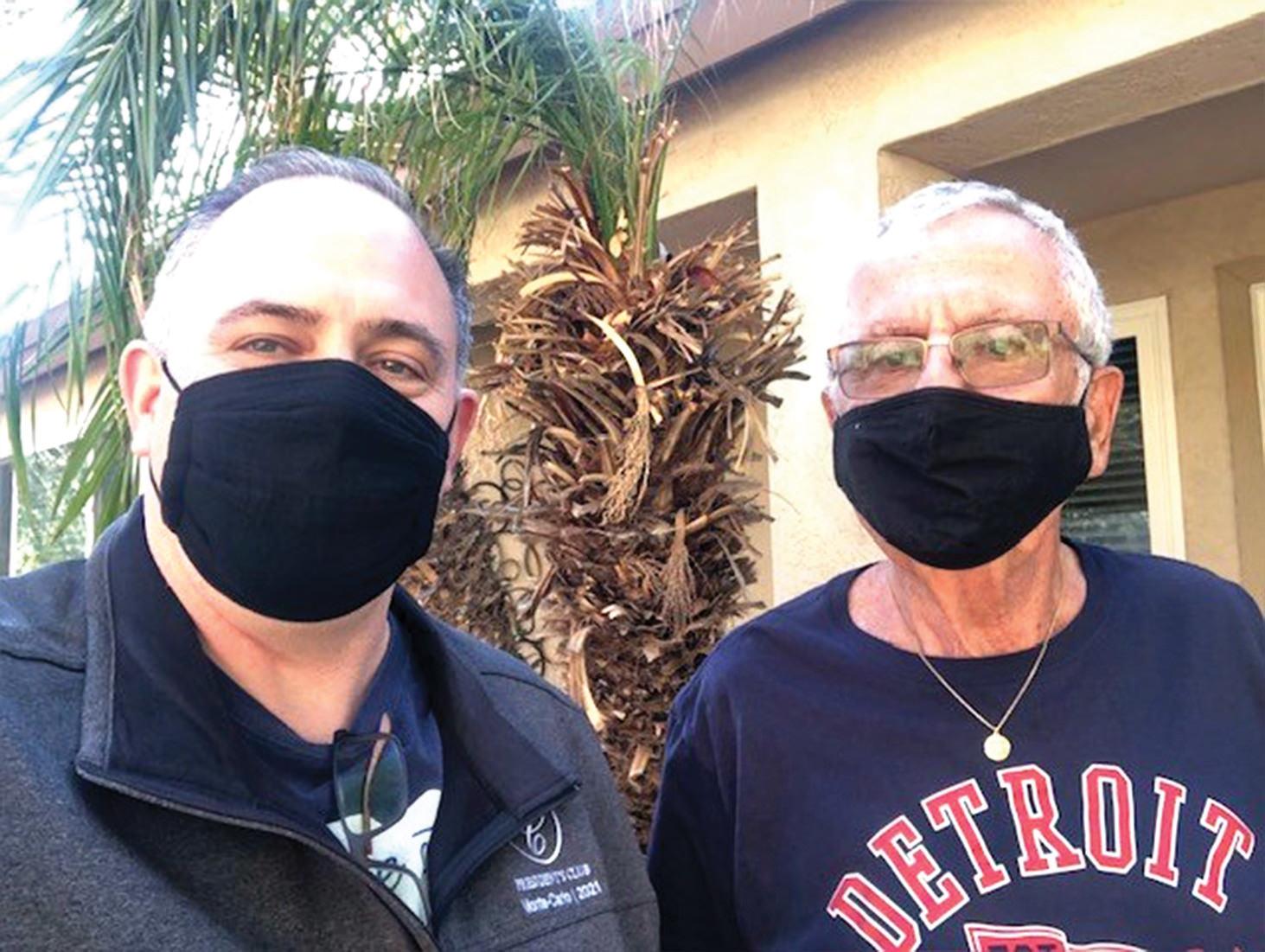 Greg Mattern and Al (recent borrower)