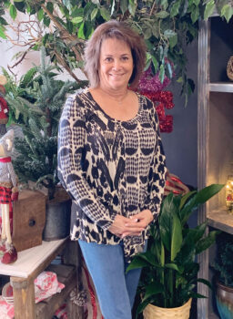 Lori Williams, owner of Flowers by Renee