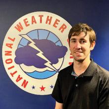 National Weather Service Meteorologist Sean Benedict (Source: NOAA's National Weather Service)