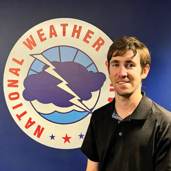 National Weather Service Meteorologist Sean Benedict (Source: NOAA's National Weather Service)